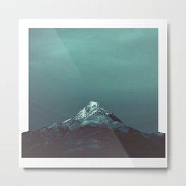 Solo Mountain Metal Print