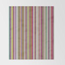 Stripes & stripes Throw Blanket