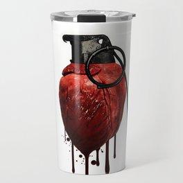 Heart Grenade Travel Mug