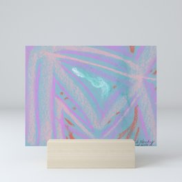 Designer Collection Blue 4 Mini Art Print