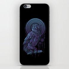 Owl Nouveau II iPhone Skin