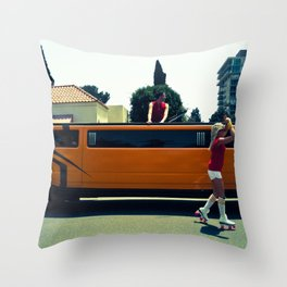 O Rollers Throw Pillow