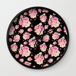 Sweet Wendie Floral Wall Clock