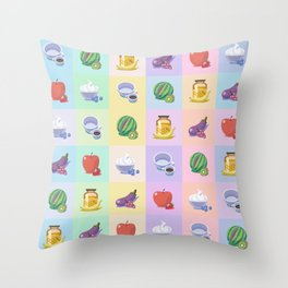The Sweet Size Difference Throw Pillow