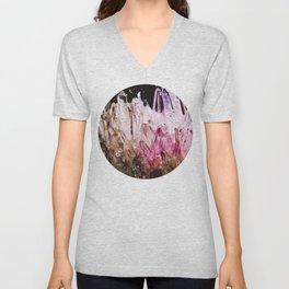 Rainbow quartz Unisex V-Neck