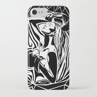 boxing iPhone & iPod Cases featuring boxing by natalie shaul