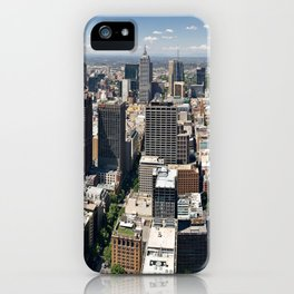 Melbourne From Above iPhone Case