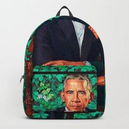 portrait obama Backpack