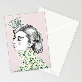 Audrey Hepburn 2 Stationery Cards