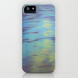 Mountain Water Art iPhone Case