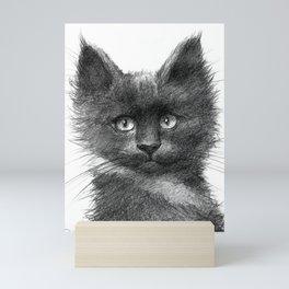 Black Kitten SK135 Mini Art Print