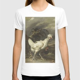 Pieter Jansz van Ruyven - Cock, a Hen and other Poultry T-shirt