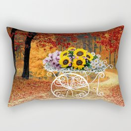 From Autumn to Spring Rectangular Pillow