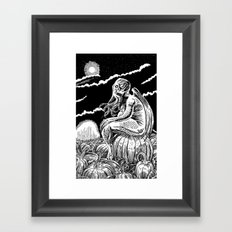It's the Great Cthulhu! Framed Art Print