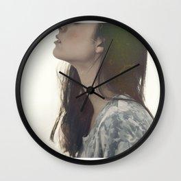 piedritas de colores  Wall Clock