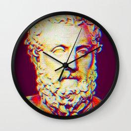 Aeschylus Wall Clock