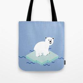Snow Buddy Tote Bag