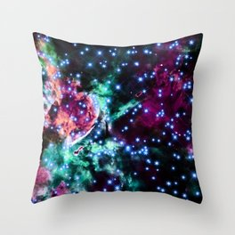 space stars. Throw Pillow