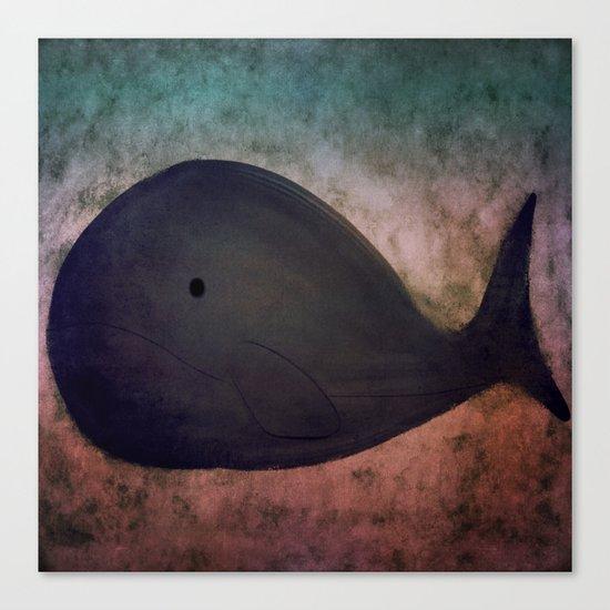 Whale-167 Canvas Print