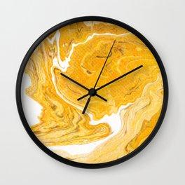 Snake Skin Marble Wall Clock