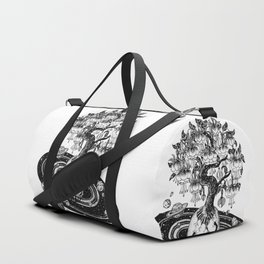 Space tree of Life Duffle Bag