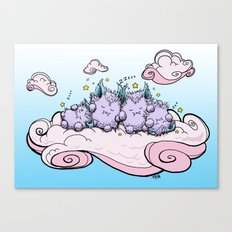 Cloud Nap Canvas Print