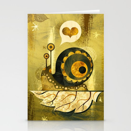 The Enamored Snail Stationery Cards