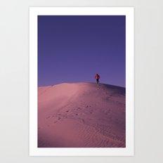 White Sands Art Print