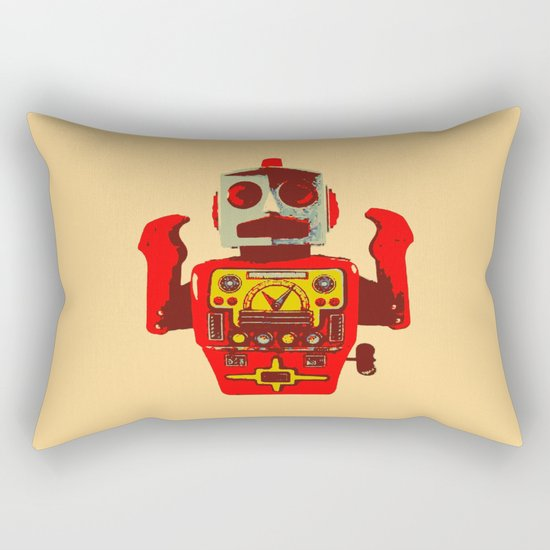 Robot II Rectangular Pillow