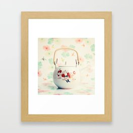 Japanese Teapot Framed Art Print