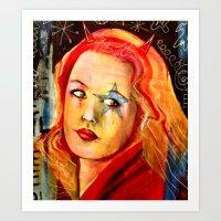 Underground Lover Art Print