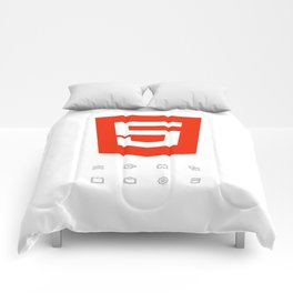 HTML5 Brand Launch Comforters