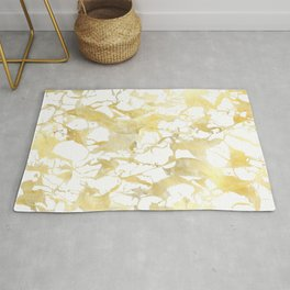 Marble gold Rug
