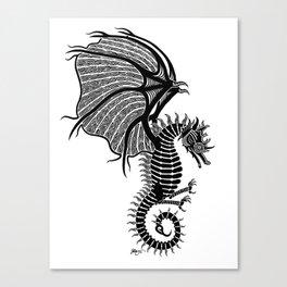 Sea Wyvern Canvas Print