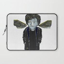 Kurt Vonnegut Jr Oil Painting by Tony King  Laptop Sleeve