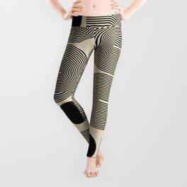 Abstraction_NEW_SUN_LINE_POP_ART_Minimalism_0299A Leggings