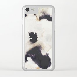 Ink and coffee Clear iPhone Case