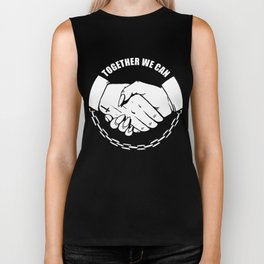 Together We Can Biker Tank