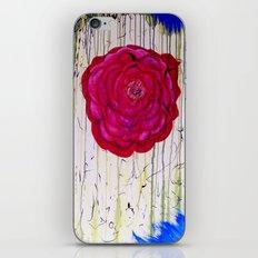 Dripping Dog Rose iPhone & iPod Skin