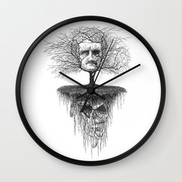 Edgar Allan Poe, Poe Tree Wall Clock