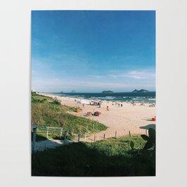 Rio de Janeiro Barra Beach Poster