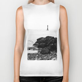 Morris Island Lighthouse Biker Tank