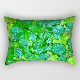 Algae Jungle Rectangular Pillow