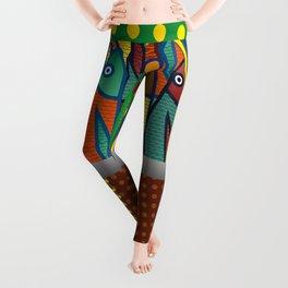Sardines pop art Leggings