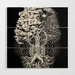 The Tree of Life Wood Wall Art