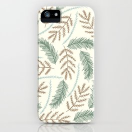 Spruce Branches iPhone Case