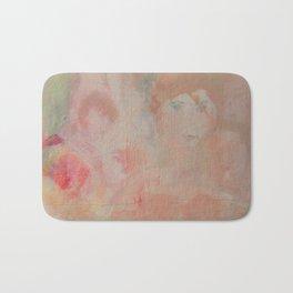 soft garden pink Bath Mat