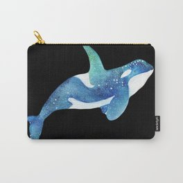 Blue Whale, Watercolor Whale, Sea life Art ,Wild life Art Carry-All Pouch