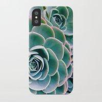 succulents iPhone & iPod Cases featuring Succulents by Ez Pudewa