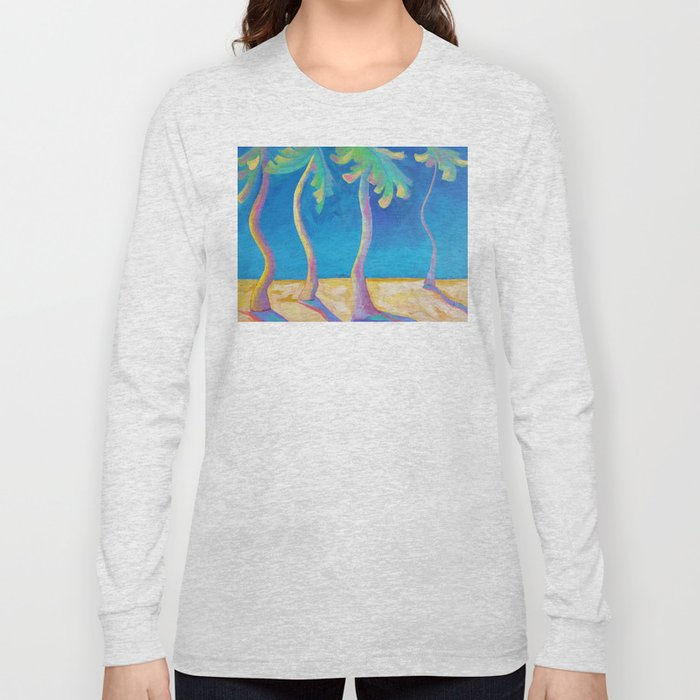 DANCING PALMS Long Sleeve T-shirt